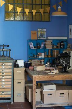 Το εργαστήριο μου !!! | NEANIKON Corner Desk, Furniture, Home Decor, Corner Table, Decoration Home, Room Decor, Home Furnishings, Home Interior Design, Home Decoration