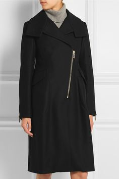 Tod's | Wool-blend felt coat | NET-A-PORTER.COM