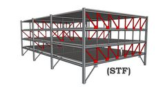 staggered truss system