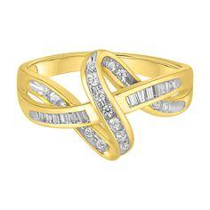 1/4 ct. tw. Diamond Ring in 10K Gold