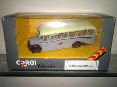 Corgi Classics C949/4 1:50 Scale Bedford type OB Coach, Grey Cars