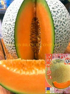 Hot sell 100 pcs original package of Japan Mariage melon Seeds orange fruit seeds high sugar brix hami melon seeds
