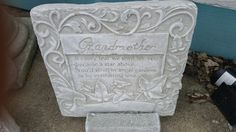 Concrete Sympathy Plaque
