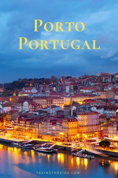 Porto is a must see destination when in Portugal. There are so many things to do here. Whether planning a long vacation or a river cruise excursion here, see what is in store for you here. Travel Planner, Trip Planner, Cruise Excursions, World Cities, Europe Destinations, European Travel, Continents, Wonderful Places, Family Travel