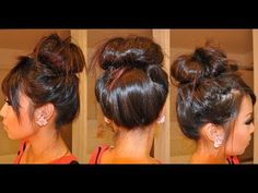How to do a Messy Bun with Hair Extensions