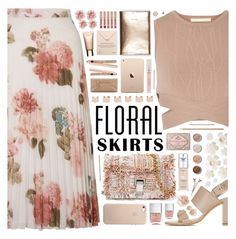 """""The Perfect Summer Floral Skirt"" - Contest"" by arierrefatir ❤ liked on Polyvore featuring Miss Selfridge, Jonathan Simkhai, Topshop, Proenza Schouler, Too Faced Cosmetics, Nails Inc., L'Oréal Paris, Maison Margiela, Terre Mère and Dogeared"
