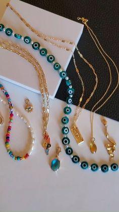 Trendy Jewelry, Summer Jewelry, Cute Jewelry, Fashion Jewelry, Layered Jewelry, Craft Jewelry, Jewelry Ideas, Bead Jewellery, Beaded Jewelry