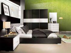 top 25 contemporary style bedroom design ideas black and green wall decal contemporary style bedroom