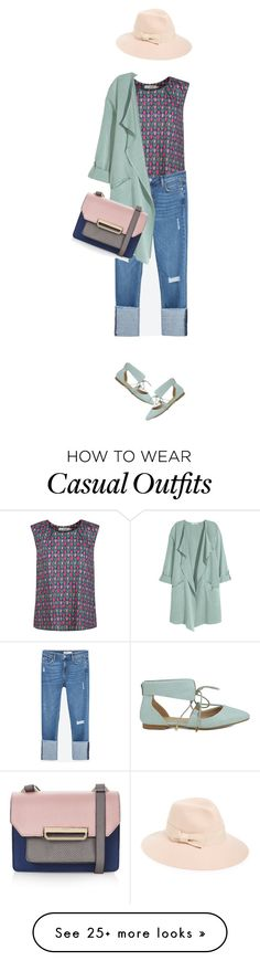 """Casual Tulip Blouse"" by lorantin on Polyvore featuring Seasalt, Zara, Black Swan, Topshop and August Hat"