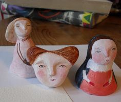 clay in progress2 by Maidolls, via Flickr