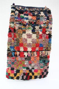 Exuberant Moroccan rugs (wonderful as upholstery, too). Boucherouite Rug 30