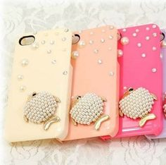 Pearl Fish Protective Plastic Back Case for Iphone4 4s at chemjoy.com