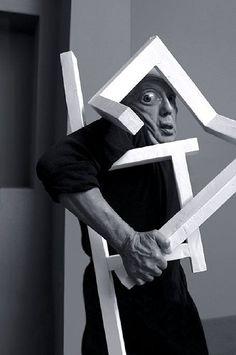 Anna Blume Trash Collector, White Art, Black And White, Eyes Wide Shut, Weird World, Asylum, Portrait, Bauhaus, Identity