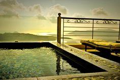 Perfect hotel in Santorini @ Nefeles Suites Hotel - Santorini Accommodation, Santorini Hotels, Honeymoon Hotels, Greek Islands, Garden Bridge, Greece, Destinations, Outdoor Structures, Greek Isles