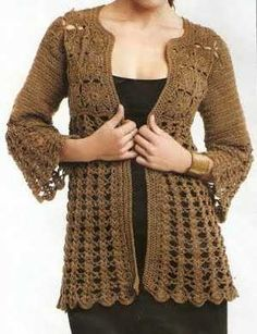 A la moda según tu estilo con los suéteres a crochet | Web de la Moda