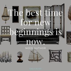 The best time for new beginnings is now. need author tanya nicole Vancouver, Residential Interior Design, New Home Designs, New Beginnings, New Homes, Author, House Design, Good Things, Inspiration