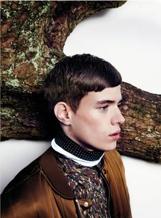 Jordy Baan and Ton Heukels shot by Jasper Abels and styled by Siriane Hunia with pieces from Z Zegna, Acne, Diesel Black Gold and more, for the new issue of Prestage magazine.