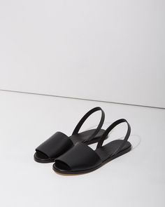 WOMAN BY COMMON PROJECTS | Slingback Slide Sandal | Shop at La Garçonne