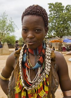 Hamer lady South ETHIOPIA © All rights reserved - All pictures are my own work, they are strictly copyrighted. Do not use without my explicit permission. African Tribal Girls, Tribal Women, African Women, Black Women Art, Beautiful Black Women, Africa Tribes, Image Couple, African Image, Amazon Girl