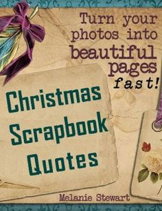 29 April 2013 : Christmas Scrapbook Quotes (Beautiful Scrapbook Pages Fast) by Melanie Stewart   http://www.dailyfreebooks.com/bookinfo.php?book=aHR0cDovL3d3dy5hbWF6b24uY29tL2dwL3Byb2R1Y3QvQjAwQ0RRODI3Mi8/dGFnPWRhaWx5ZmItMjA=