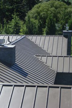 Gallery - The Architectural Roofing Company Black Metal Roof, Metal Roof Colors, Hip Roof Design, Roofing Options, Roofing Materials, Roof Coating, Fibreglass Roof, Steel Roofing, Roof Panels