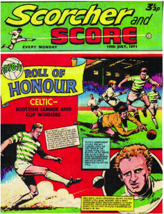 The Scorcher from 1971 featuring the Roll of Honour.