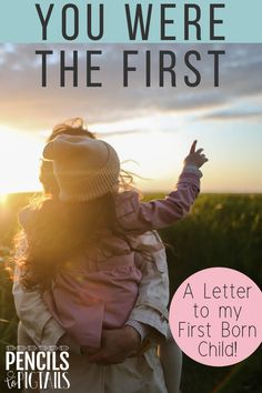 I'm sharing an open letter to my first born child. I hope you enjoy reading what makes the first born daughter or son so special and what happens when a new baby sister or brother comes along! #firstborn #newbaby #babybrother #babysister #baby