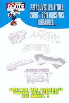 Les Titres danteprod 2008/2011 sont en vente dans vos librairies de proximité. faites des cadeaux pour Noël. Bookstores, Gifts