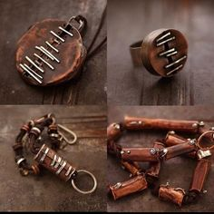 can II copper and sterling silver by ewalompe on Etsy, zł230.00