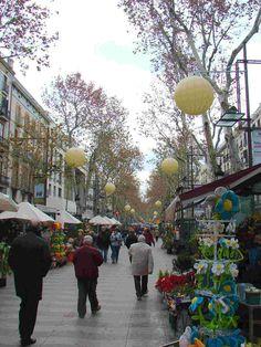 La Rambla de Barcelona - Spain