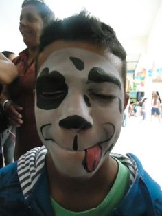 Face Painting puppy