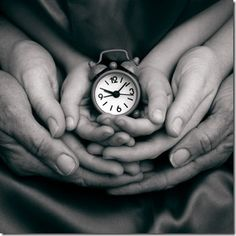 The hands of time march swiftly forward...
