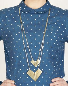 Quirky Heart Necklace-RITIKA SACHDEVA