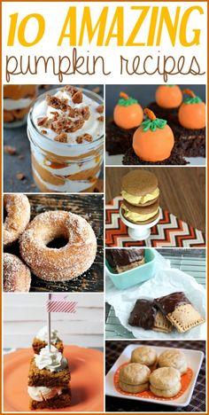 10 Amazing Pumpkin Recipes