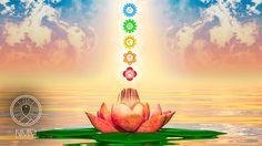 Reiki music with tibetan singing bowl every 3 minutes, healing music, me...