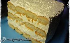 Habos citromos álom – sütés nélkül recept fotóval