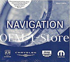 2004 DODGE RAM LARAMIE 3500 RB4 NAVIGATION NAV MAP DISC CD SET EAST WEST COAST