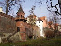 City walls of Olomouc, Czech Republic