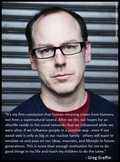 Greg Graffin PhD (MS in Geology) - lead singer of Bad Religion. Punk is not dead. It's just getting smarter.