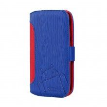 Capa Moto G Cruzerlite - Bugdroid Circuit Intelligent Wallet Blue Red  19,99 €