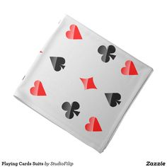 Playing Cards Suits Bandana