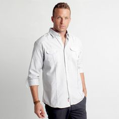 Augusta Shirt White, $28, now featured on Fab.