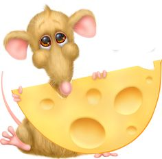 Mouse and his cheese....................
