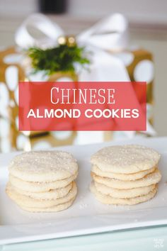 Chinese Almond Cookies + Kitchen Aid Giveaway! - In My Own Style
