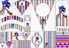 Oh My Fiesta! for Geeks Sonic Party, Sonic Birthday Parties, Mario Birthday Party, Birthday Party Themes, Birthday Ideas, Birthday Banners, Birthday Bash, Video Game Party, Party Kit