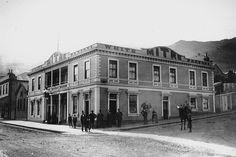 Images in Lyttelton Museum's photographic collection. Christchurch New Zealand, This Is Us, The Past, Louvre, British, Street View, Mansions, House Styles, Building