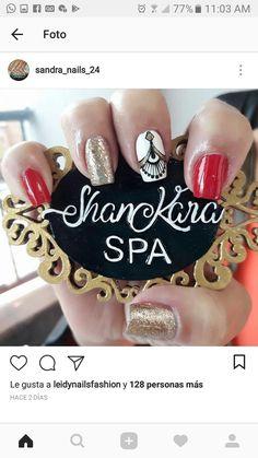 Art Nails, Erika, Diana, Hair Beauty, Nail Art, Jewels, Amor, Gold Nail Art, Easy Makeup