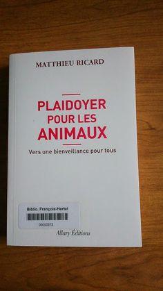 Plaidoyer pour les animaux (179.3 R487p)