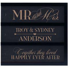 Mr. and Mrs. (Triple Slot)