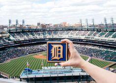 Detroit Tigers D | Pewabic Tile